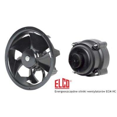 Silniki energooszczędne ECM HC firmy Elco - LNS