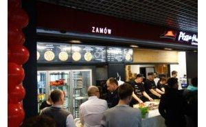 Projekt i realizacja innowacyjnej komory przeszklonej dla restauracji Pizza Hut Express