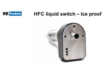 Czujnik poziomu HFC - odporny na lód [HBLC-R-IP]