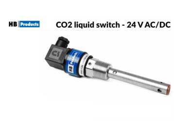 Czujnik poziomu cieczy CO2 - 24 V AC/DC