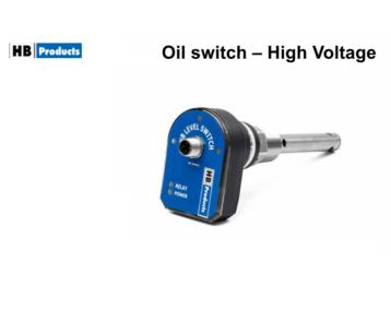 Czujnik poziomu oleju HFC - 90…240 AC [HBSO]
