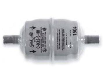 Filtr HPC-HH dwustronnego działania (po spaleniu sprężarki)