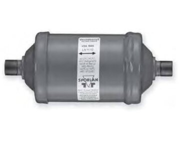 Filtr odwadniacz dwukierunkowego działania V2A