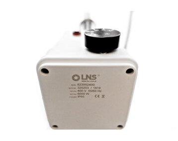 Grzałka trójfazowa LNS z przyłączem gwintowanym 400V 6 kW L=400mm