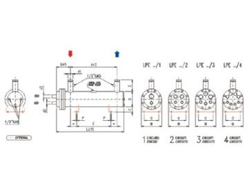 Parownik płaszczowo-rurowy – typ LPE