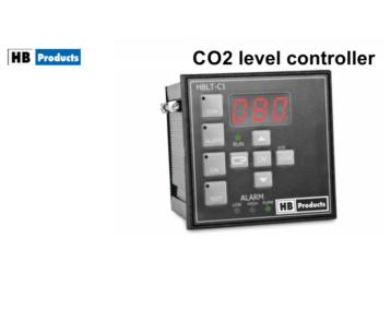 Programowalny kontroler poziomu CO2 [HBLT-C1]