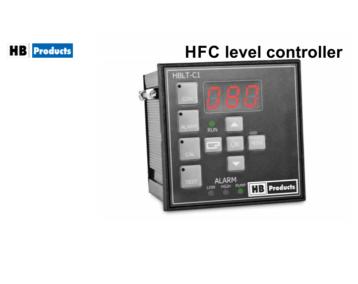 Programowalny kontroler poziomu HFC [HBLT-C1]