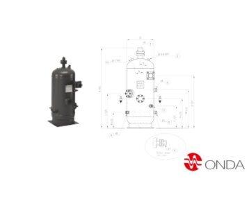 Separator oleju – typ OVS