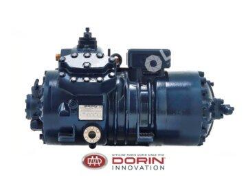 Tłokowa sprężarka półhermetyczna dla układów transkrytycznych CO2 - CD  DORIN