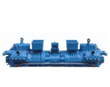 Tłokowa sprężarka półhermetyczna w wersji Tandem / Sprężarki Frascold