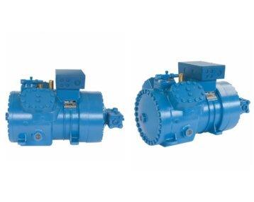 Tłokowe sprężarki półhermetyczne dla układów transkrytycznych CO2 / Sprężarki Frascold