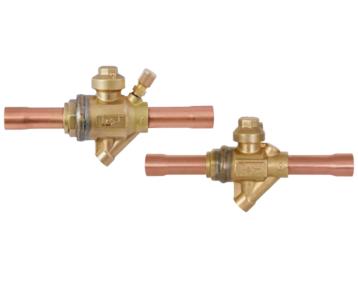 Zawór kulowy EBV(T)-PR (PS90 bar) z zintegrowanym automatycznym upustem ciśnienia dla HFC