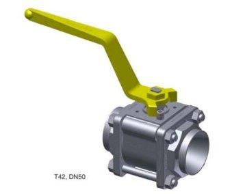 Zawór kulowy T42